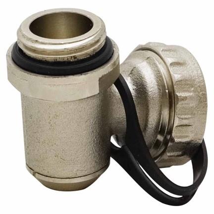 شیر شارژ تخلیه در تجهیزات گرمایش از کف