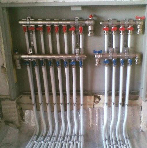 نصب کلکتور در سیستم گرمایش از کف